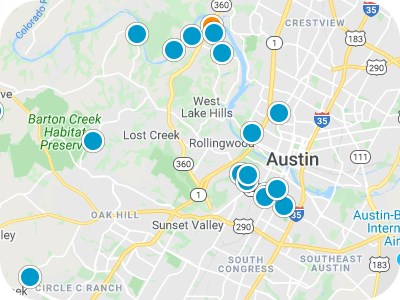 Austin Real Estate Map Search