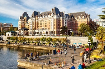Empress Hotel Downtown Victoria