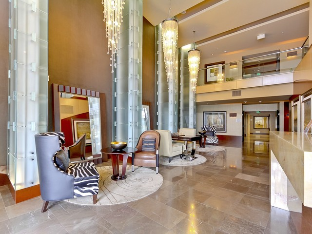 Picture of Bayside Condos lobby