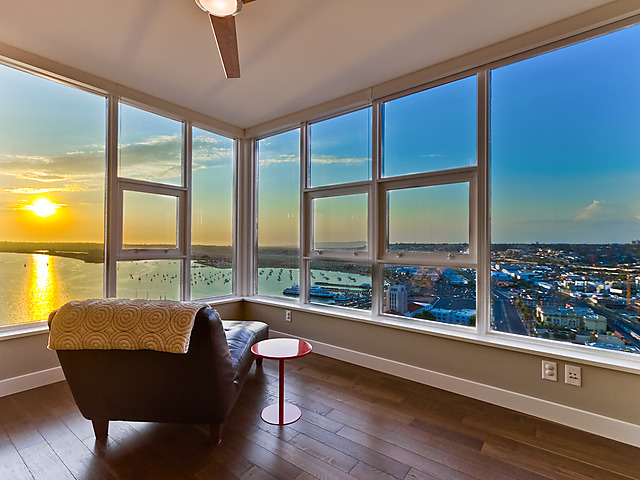 NW Views from Bayside condos Downtown SD