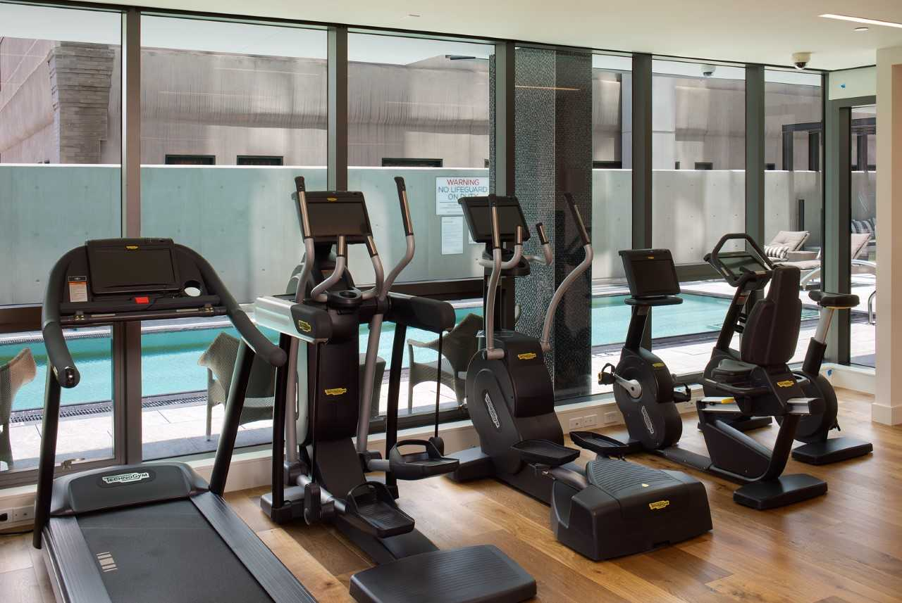 Gym and Pool at The Park Bankers Hill Condos