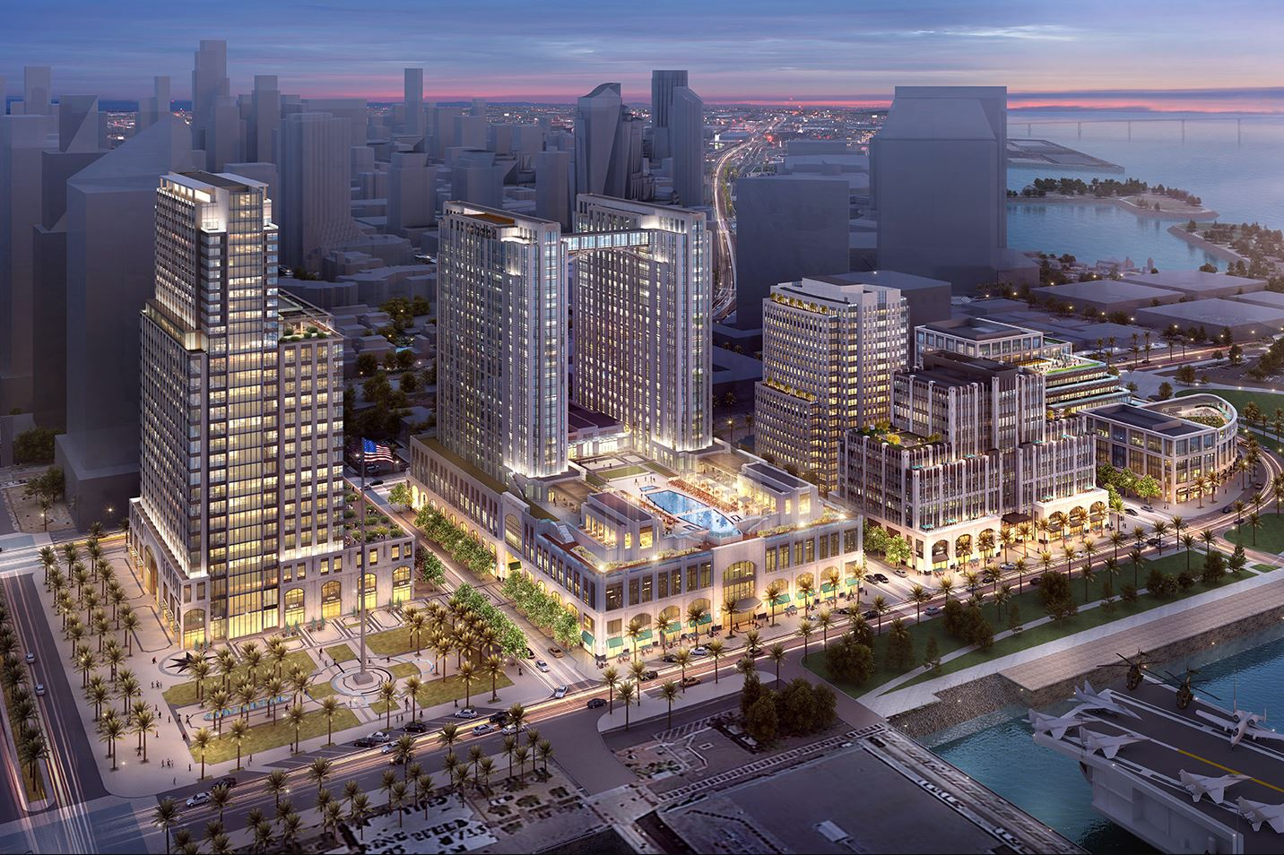 Manchester Pacific Gateway Project downtown San Diego image