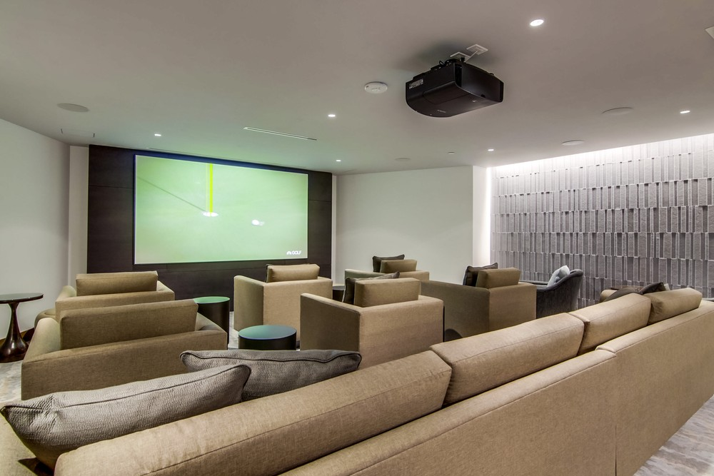 Movie Screening Room at Pacific Gate, Home Theator