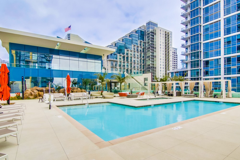 Pool at Savina Condos