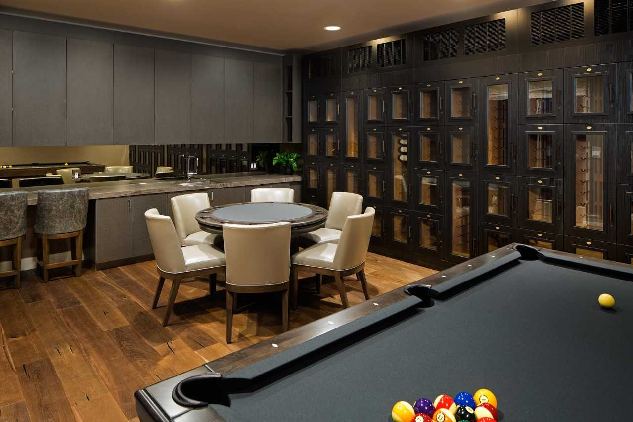 Wine Tasting Room at The Park Condos in Bankers Hill