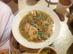 Chicken Marsala at Trattoria Limoncellos in Punta Gorda Florida