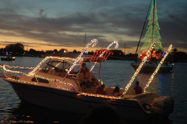Christmas Boat Parade in Charlotte Harbor FL