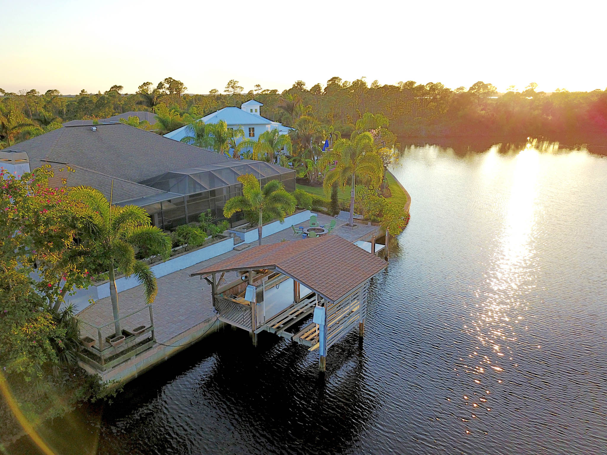 Waterfront home in Port Charlotte, Florida