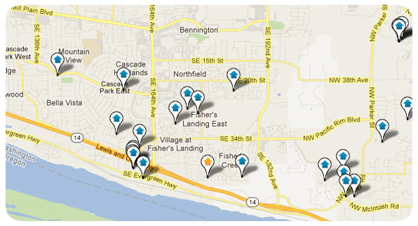 East Vancouver Map Search