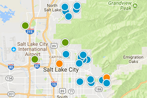 Salt Lake Valley Real Estate Map Search