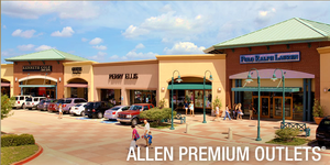 Allen Texas - Outlet Mall