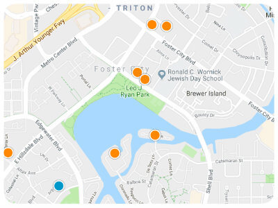 Foster City Real Estate Map Search