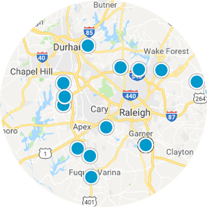 Wake Forest Real Estate Map Search