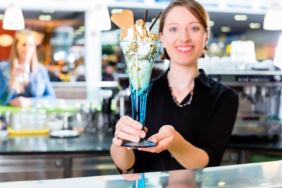 Find great ice cream on Wilmington property at Boombalatti's.