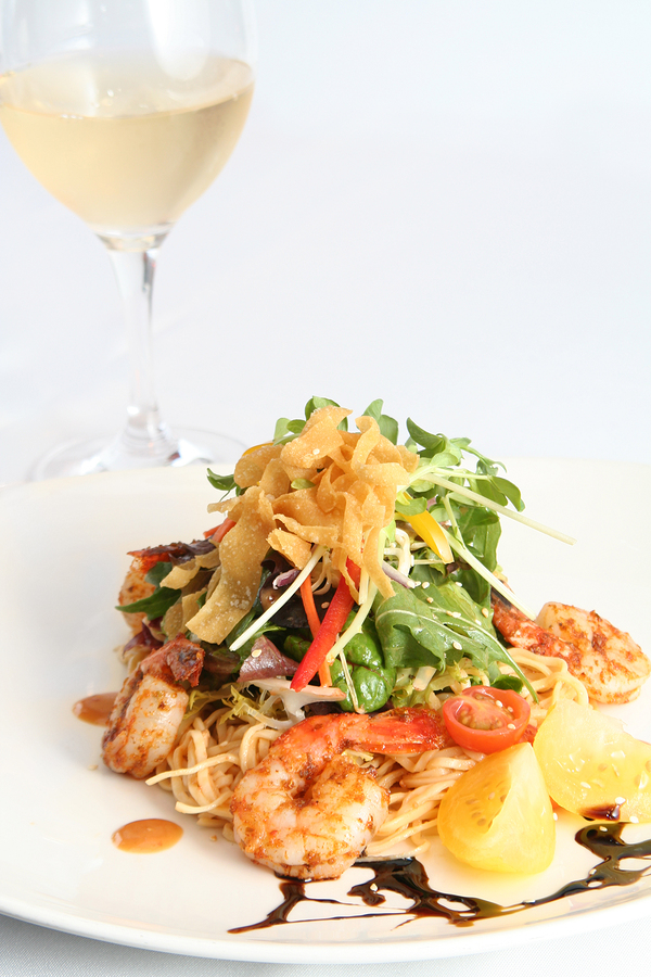 Try Thai and Vietnamese cuisine near Wilmington homes at Indochine.