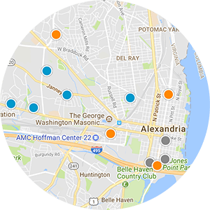 Rosemont Real Estate Map Search