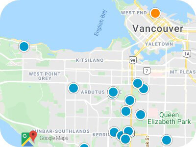 Lower Mainland Real Estate Map Search