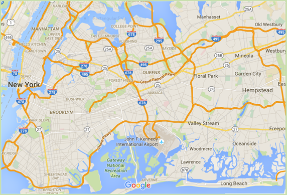 Long Island Queens Map Search