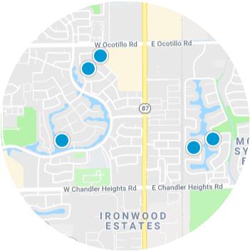 Ocotillo Real Estate Map Search