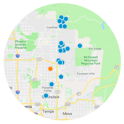 Scottsdale Real Estate Map Search