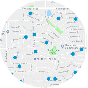 Sun Groves Real Estate Map Search
