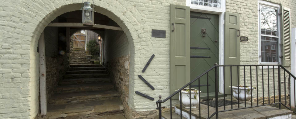 The Famous Circa 1763 Arch House In Historic Village Of