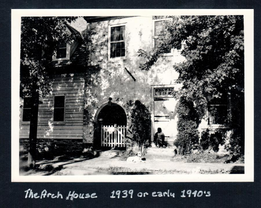 The Arch House in Waterford - ca 1763