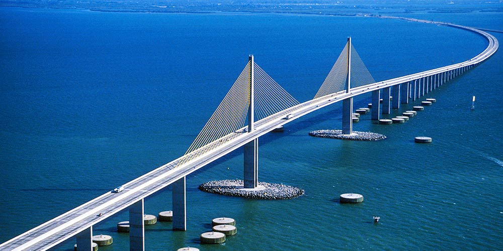 Moving to Tampa | Clearwater Relocation Guide | Sunshine Skyway Bridge