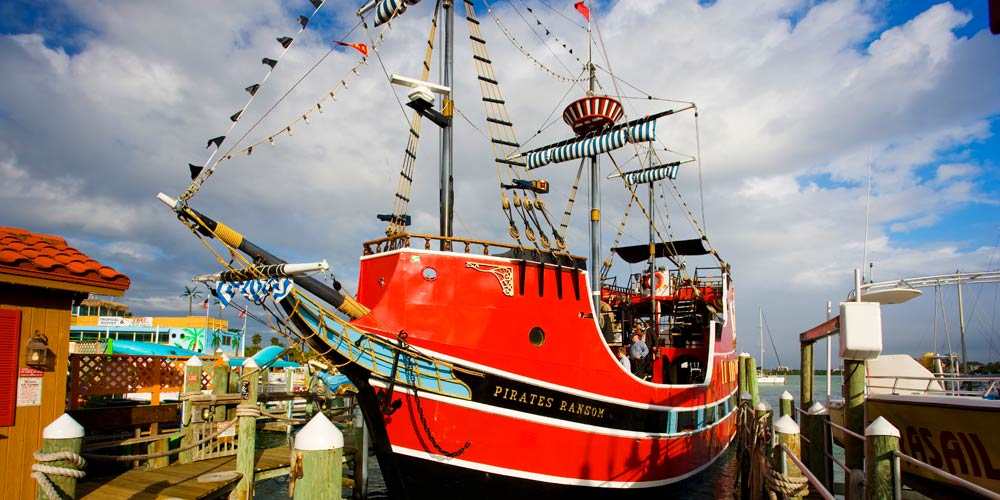 Moving to Tampa | Clearwater Relocation Guide | Pirate galleon in Clearwater