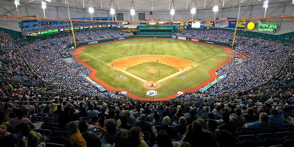 Moving to St. Petersburg   Tampa Bay Relocation Guide   Tropicana Field