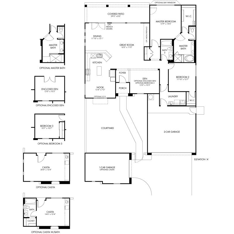 Photo : Cantamia Floor Plans Images. Melody Homes Floor Plans ...