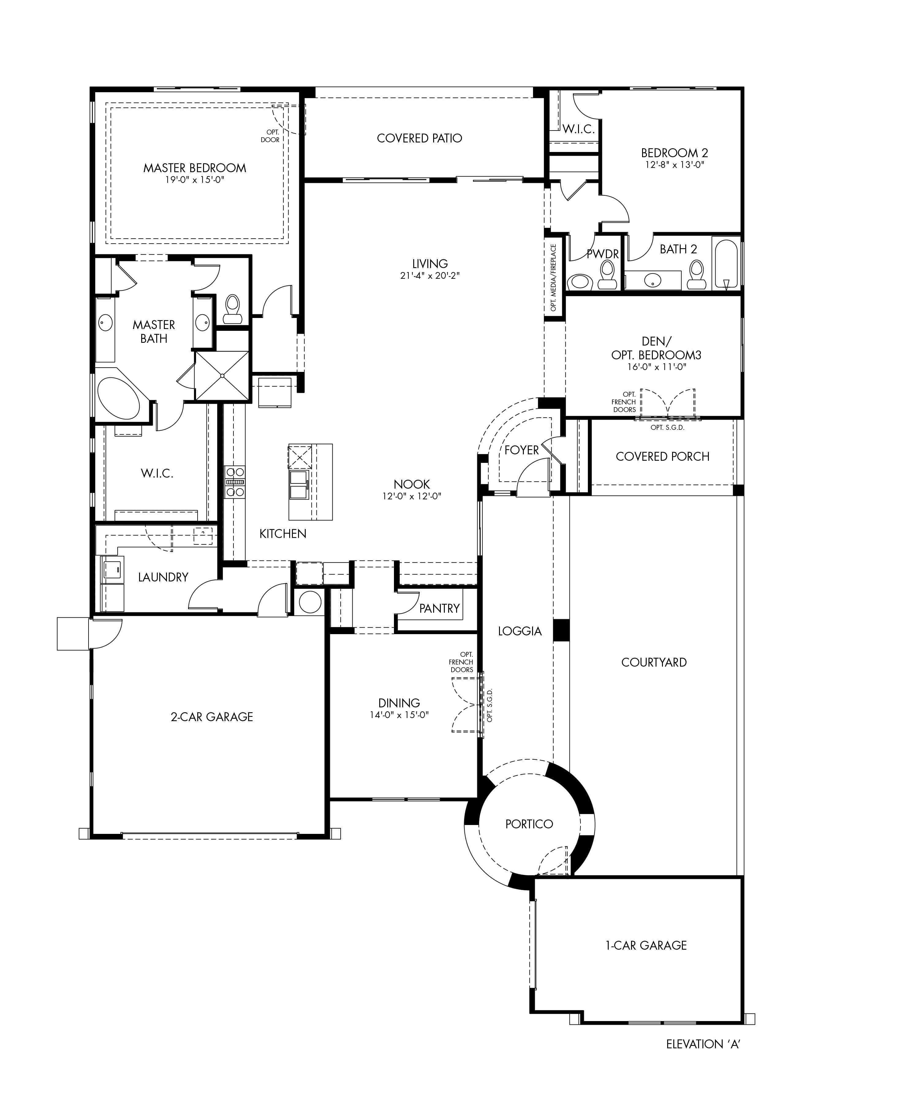 Concerto Floor Plan - Symphony Series - CantaMia Floor Plans