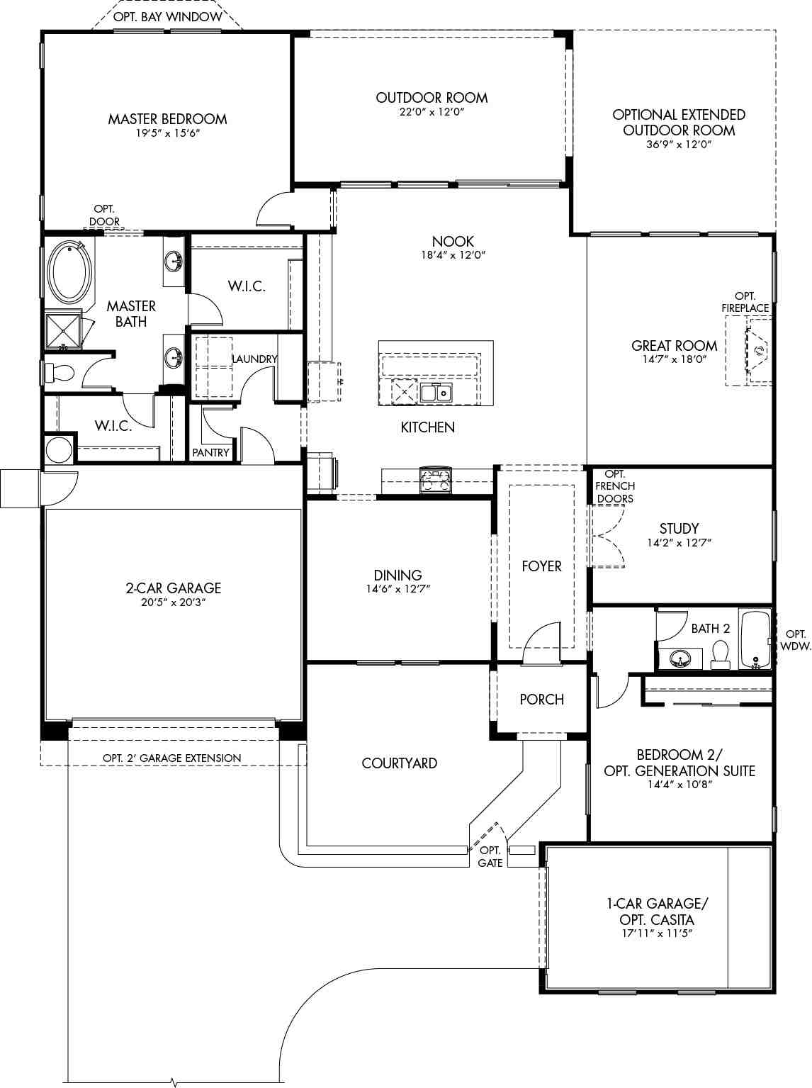 Sun City Anthem Floor Plans Madrigal Floor Plan Symphony Series Cantamia Floor Plans