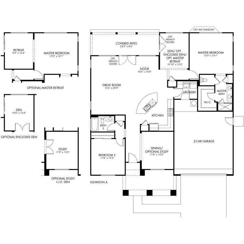 Serenade Floor Plan - Chorus Series - CantaMia Floor Plans
