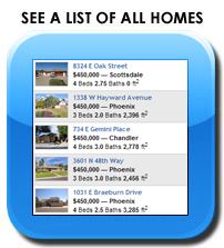 List of Arizona Traditions homes for sale.