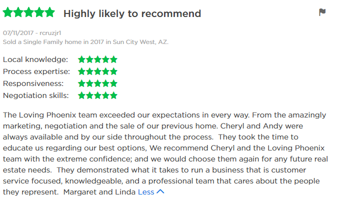 Review of Cheryl Benjamin Loving Phoenix Team