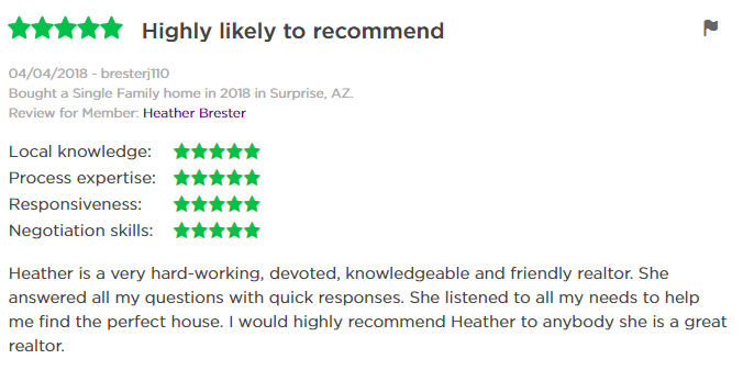 Heather Brester Zillow Review 3