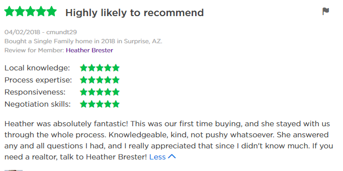 Heather Brester Zillow Review 4