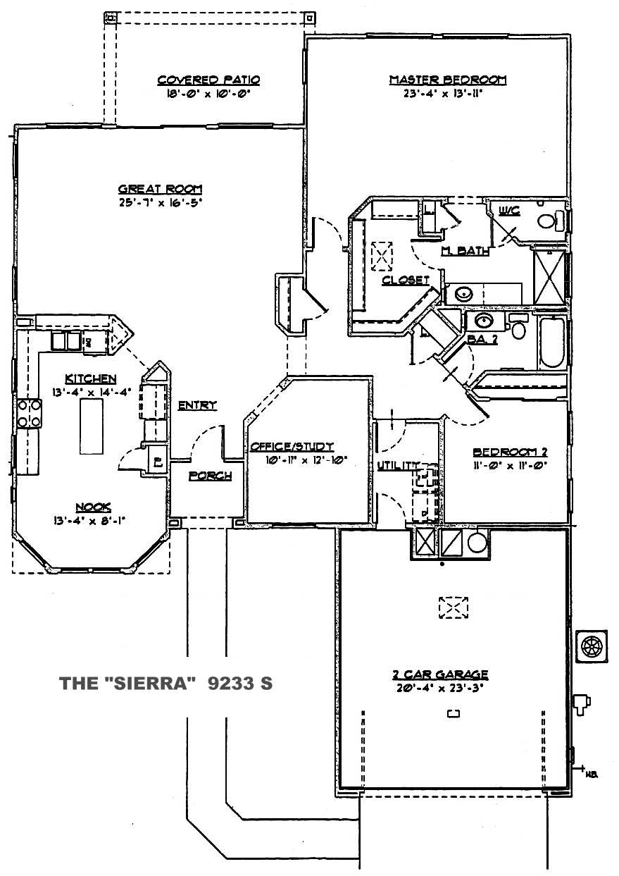 Sierra Floor Plan Sun City Grand Floor Plans