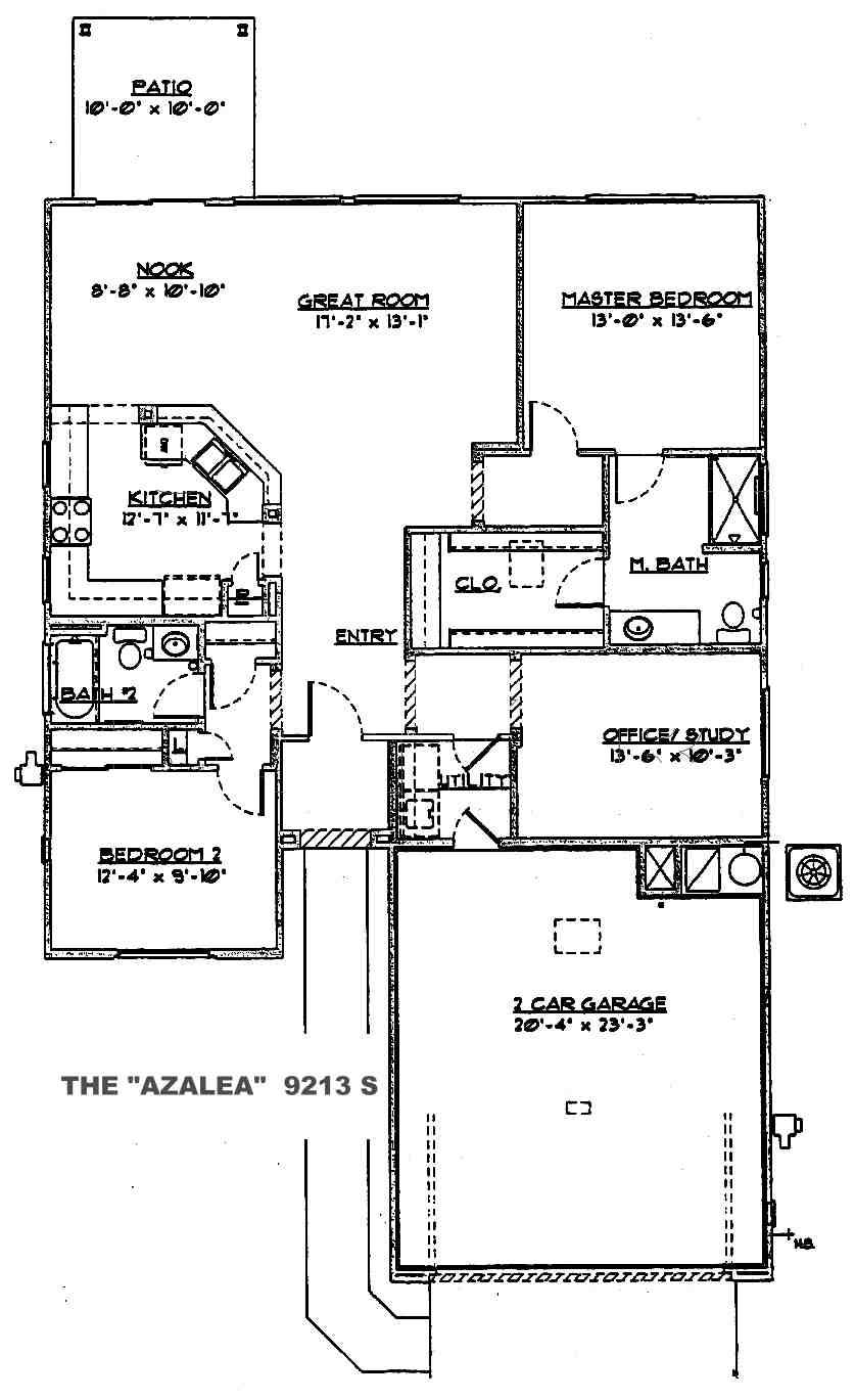 Azalea Floor Plan Sun City Grand Floor Plans