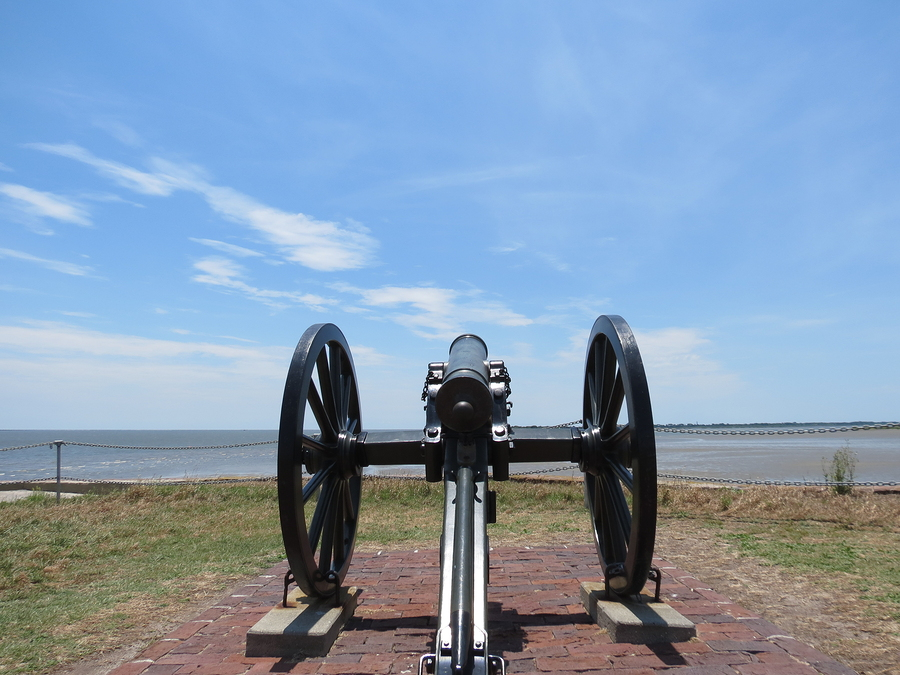 See historic Charleston real estate at Fort Sumter.