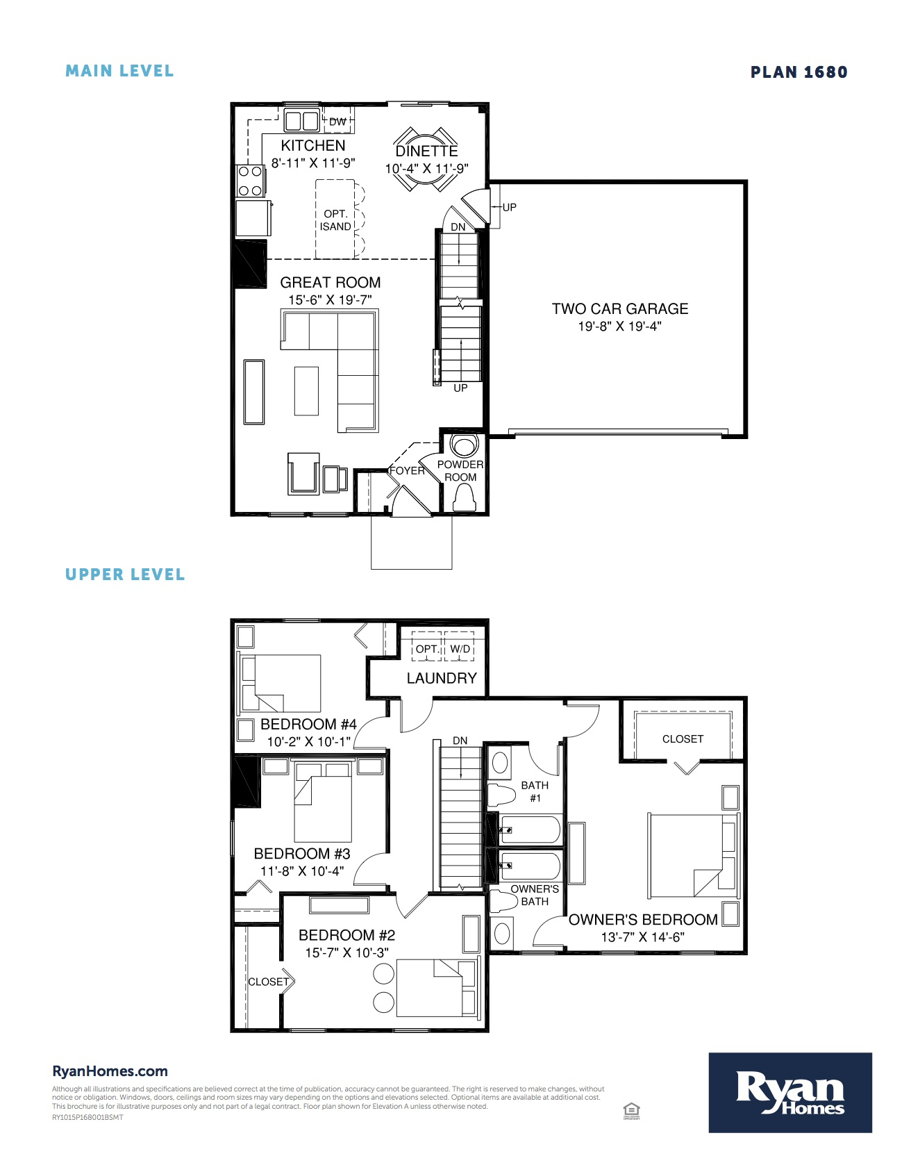 Older ryan homes floor plans for Ran homes plans