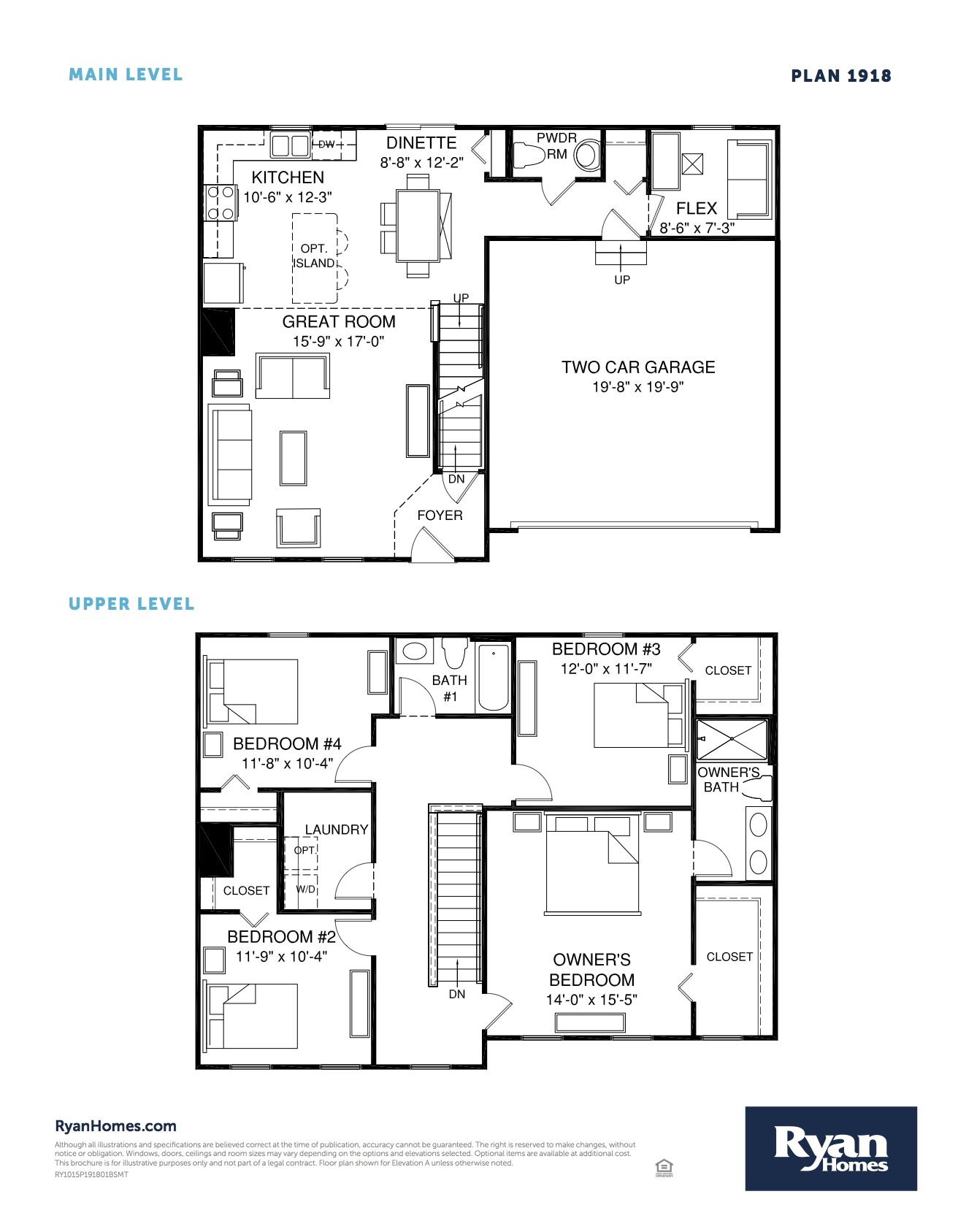 Ryan Homes Rt Floor Plan | Ryan Homes