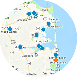 Long Neck Real Estate Map Search