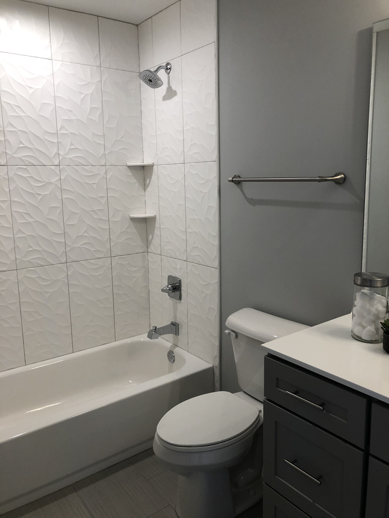 Schoettler Grove Finished Basement Bath