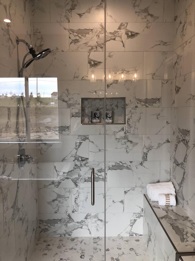Benton Homebuilders Master Bath