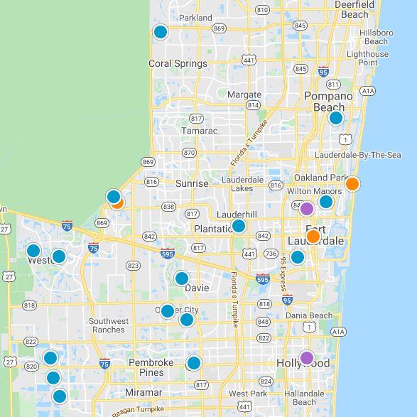 Broward Real Estate Map Search