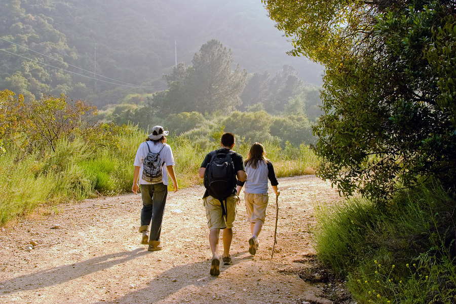 Scottsdale property owners hike the greenbelt.