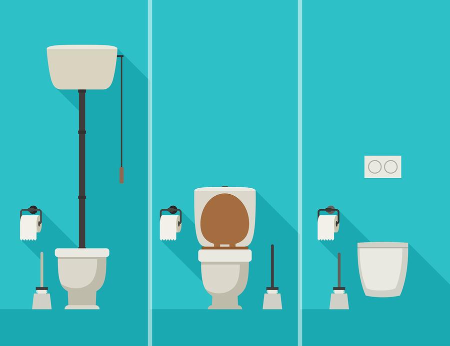 bathroom diagram