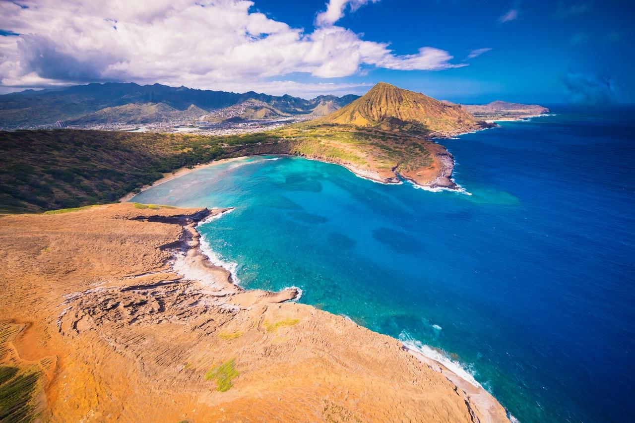 Oahu Aerial View